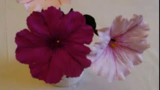 How to make Paper flower Petunia / Grandiflora (Flower # 19)