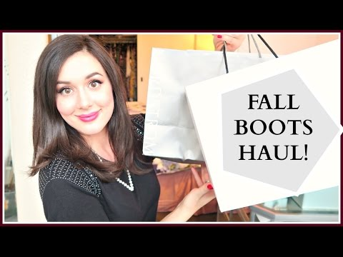 FALL BOOTS HAUL | THE BEST BOOTIES OF 2016 | #NouvelleFall