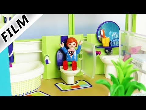 05:52 Playmobil Film Deutsch NEUES BADEZIMMER FÜR FAMILIE VOGEL! UMBAU IN  DER LUXUSVILLA