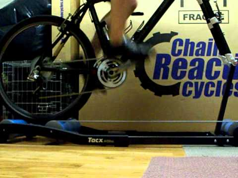 Tacx Antares Rollers Using