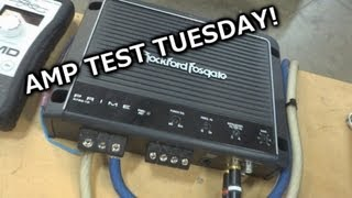 "Amp Test Tuesday - Rockford Fosgate Prime 750.1 - RF's ""budget"" 750 watt Amp"