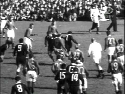 South Africa v New Zealand Maoris - 1956 Highlights