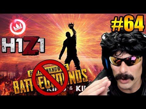 THE DOC UNINSTALLED PUBG! H1Z1 COMEBACK?! H1Z1 - Oddshots & Funny Moments #64
