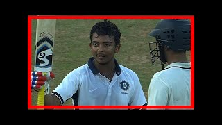 Breaking News | Duleep trophy final: prithvi shaw, dinesh karthik centuries guide india red to 317/5