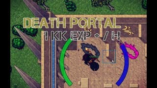 #1 Tibia ED/MS 80lvl + | Death Portal | 1kk~ EXP/H