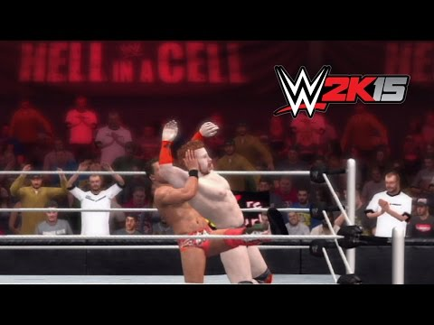 Wwe 2k15 Replay: Sheamus Vs. The Miz — Wwe Hell In A Cell 2014 Simulation video