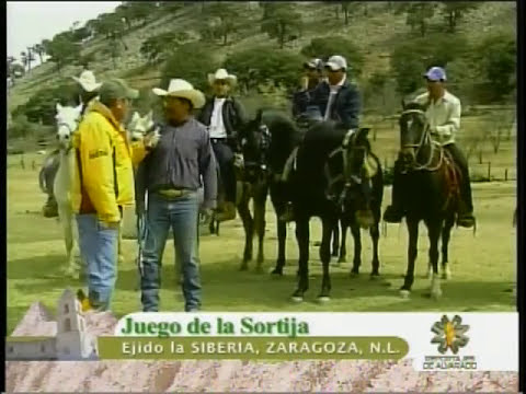 Juego de la Sortija  en Ejido La Siberia en Zaragoza NL
