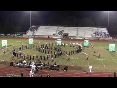 Jefferson Forest High School Marching Band at the Warrior Classic 2013