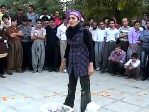 Iran - Street Theatre in the streets of Tehran دفاع از هویت زن