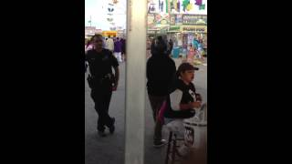 Police Harassment at Buc Days 2013