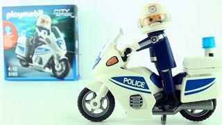 Playmobil Police Motorcycle 5185 - Motorcycle cop toy - Playmobil City Action