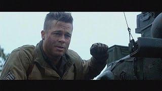 Brad Pitt, Logan Lerman e Michael Peña protagonizam
