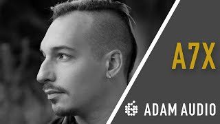ADAM Audio | In the Studio with Noah Dresner | A7X