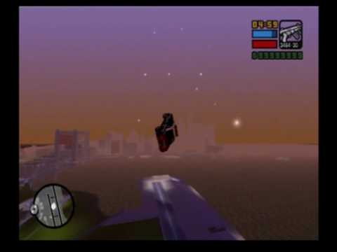 Liberty city stories flying motorcycle and cop car ps2 music videos