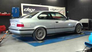 Reprogrammation moteur BMW 328i AAC @ 255cv dyno Digiservices