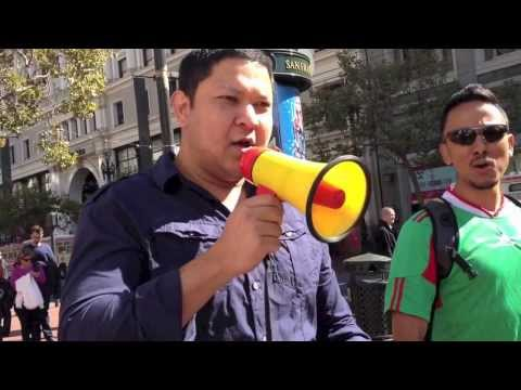 SF Protest: United Against Slavery Of Migrant Workers in Qatar!!