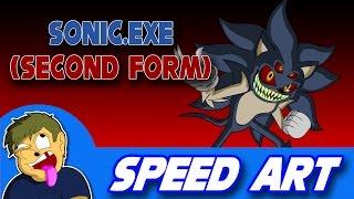 download lagu Speed Art: Sonic.exe Second Form gratis