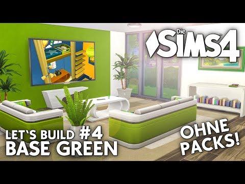 Video Die Sims 4 Haus Bauen Ohne Packs Base Green 2 Grundriss