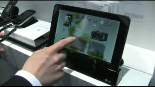 LG Optimus Pad V900 Android-Tablet im Test (Hands-On)