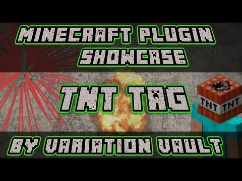 Minecraft Bukkit Plugin - TNT Tag - Fun minigame