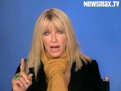 Suzanne Somers Throws Knockout for Cancer