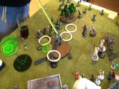 Warmachine hordes Battlereport 09-01-12 video