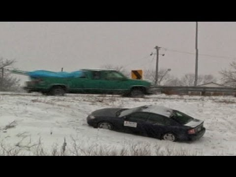 Major Snowstorm Slamming Midwest Targets East: U.S. Weather Report March 2013