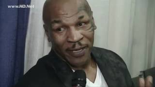 Mike Tyson on MMA and Fedor   Insde MMA Exclusive