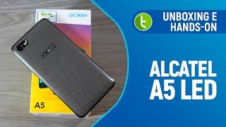 Alcatel A5 LED: unboxing e primeiras impressões   TudoCelular.com
