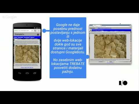 Osnove o mobilnim web-lokacijama: Drugi dio