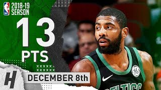 Kyrie Irving Full Highlights Celtics vs Bulls 2018.12.08 - 13 Pts, 5 Ast, 4 Rebounds!
