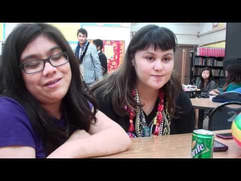 video blog with christina at waipahu high school