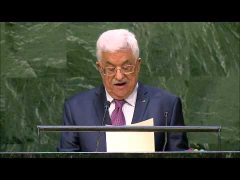Mahmoud Abbas in UNGA, 26.9.14