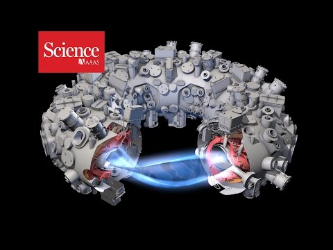 The world's largest stellarator (fusion reactor) is going to be turned on in two days!