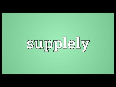 Header of supplely