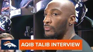 Aqib Talib addresses Sunday's ejection