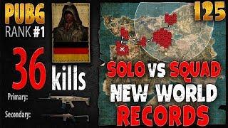 [Eng Sub] PUBG Rank 1 - MarcoOPz 36 kills [AS] SOLO vs SQUAD - PLAYERUNKNOWN