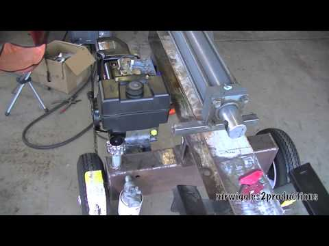 Homemade Log Splitter Part 10