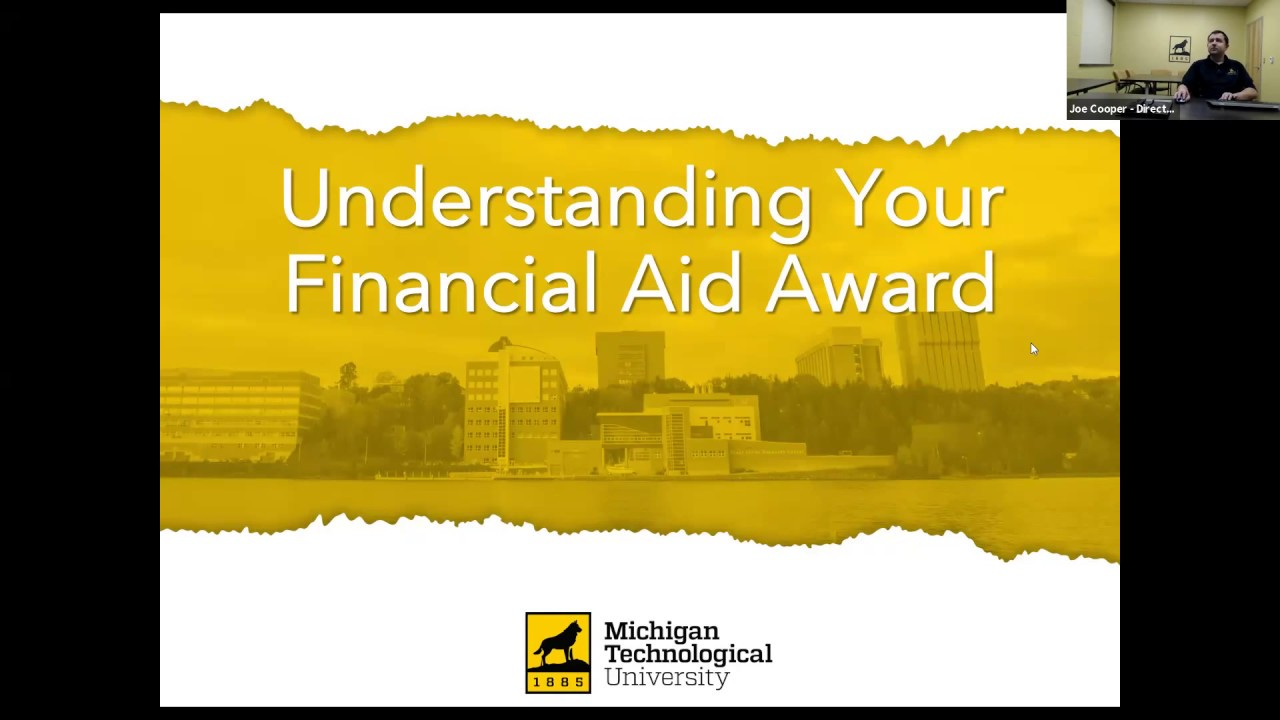 Preview image for Understanding Your Financial Aid Award video
