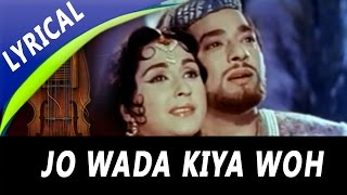 Jo Wada Kiya Woh Nibhana Padega Full Song With Lyr