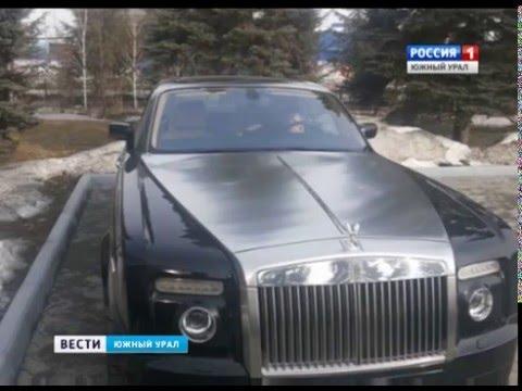 Авария с самой дорогой машиной Челябинска