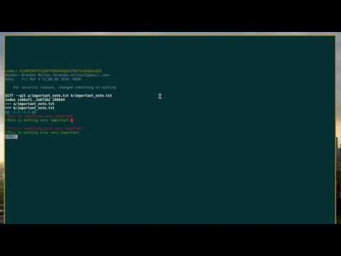 Learning Git 02: Resetting and Reverting