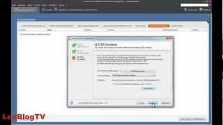 Elster Zertifikat in Lexware lohn+gehalt standard/plus einbinden | LexBlogTV