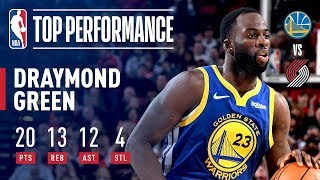 Draymond Green Records a Triple-Double in 3 Quarters! | May 18, 2019