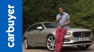 Volvo V90 estate review - Carbuyer