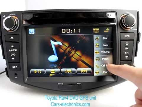 New Toyota Rav4 Dvd Player Toyota Rav4 Gps Navigation