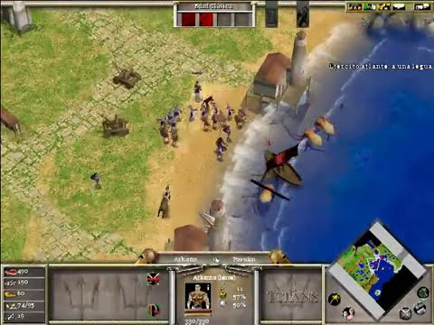 Age of Mythology - The titans expansion. Episodio 3
