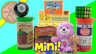 World's Smallest Classic Mini Collectible Toys Complete Collection