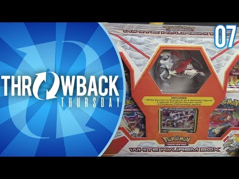 Opening a White Kyurem Box of Black and White Era Pokemon Cards! | Throwback Thursday #7