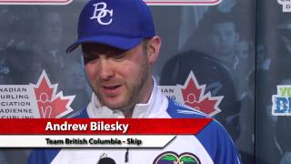 Draw 13 Media Scrum - 2013 Tim Hortons Brier